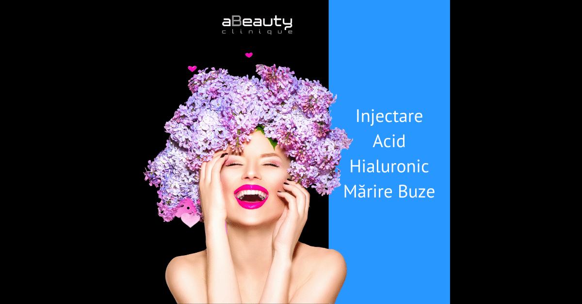 Injectare Acid Hialuronic Marire Buze Volum Contur si Simetrie Juvederm Amalian
